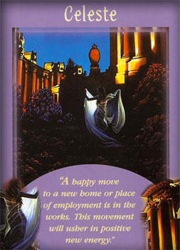 Angel Card Celeste